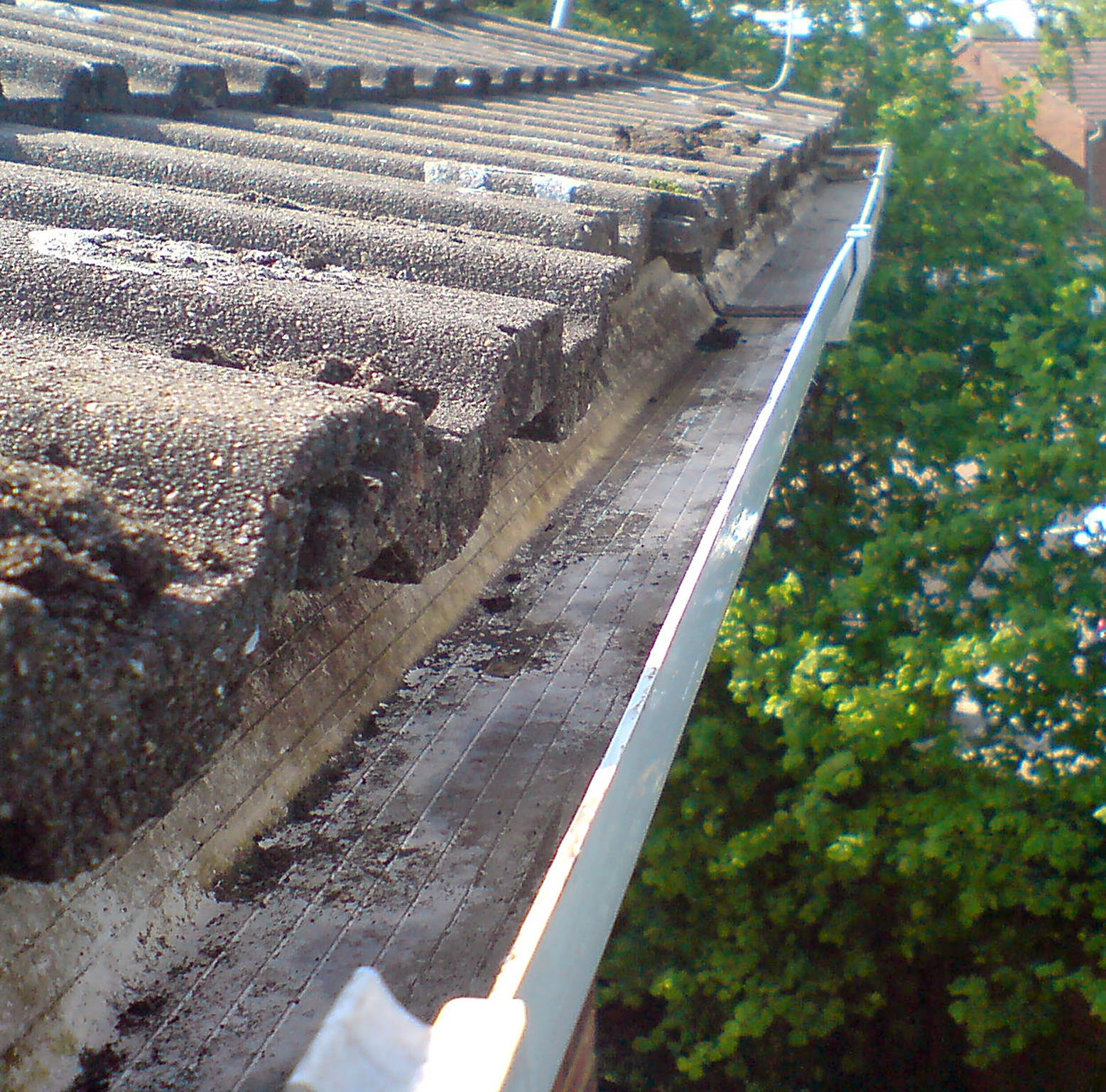 Gutter Clearing After