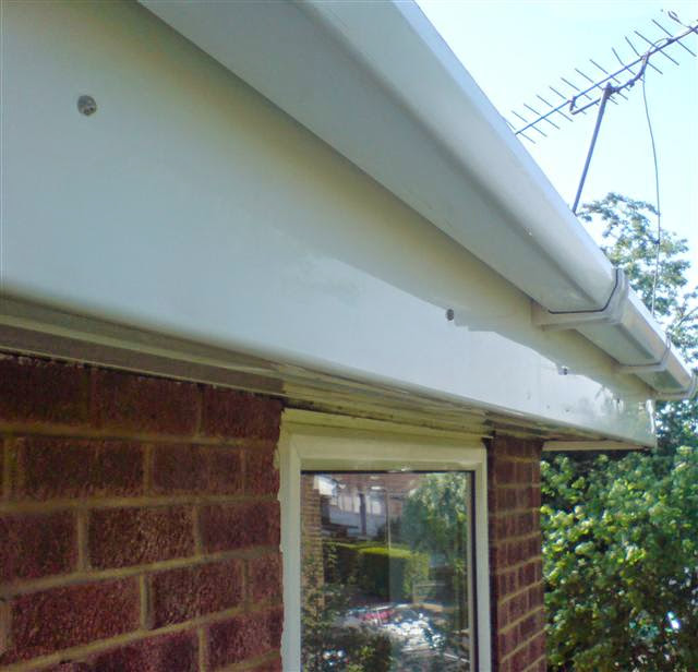 UPVC and Gutter Cleaning After